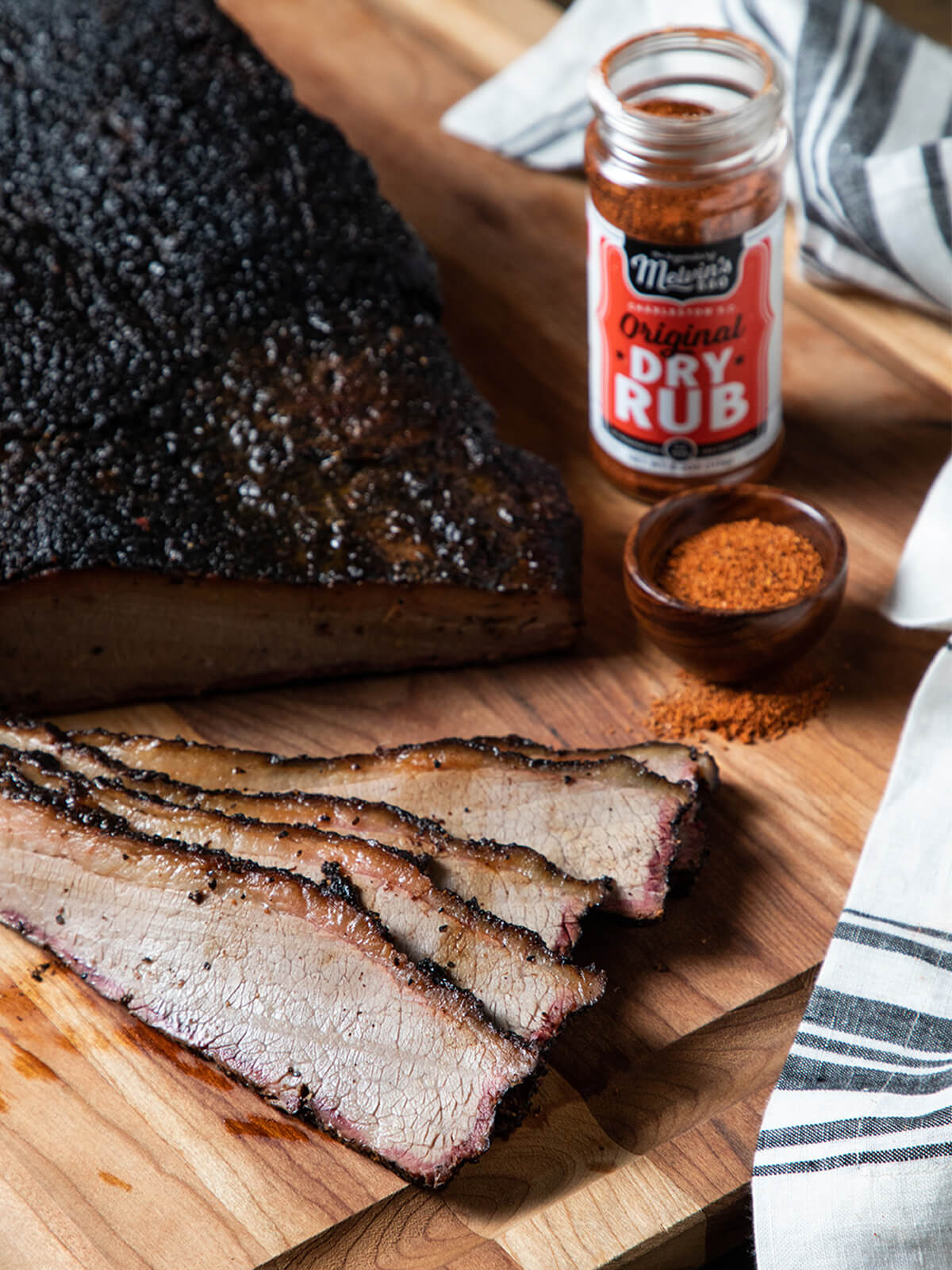 Dry Rub - Smoked Brisket