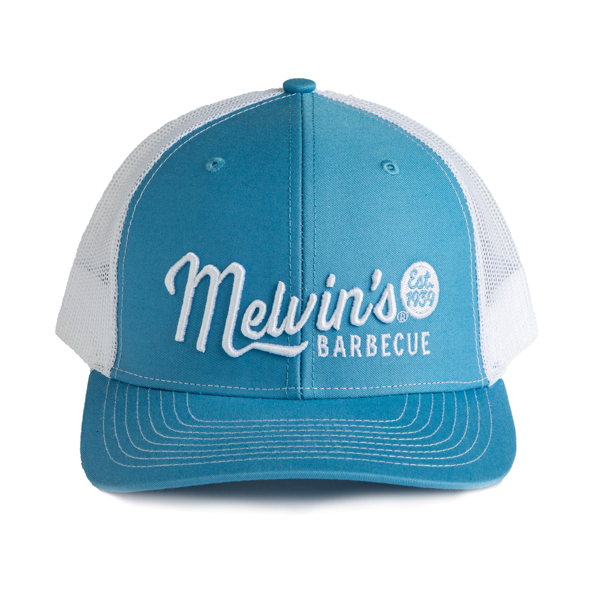 melvin's blue stitch hat