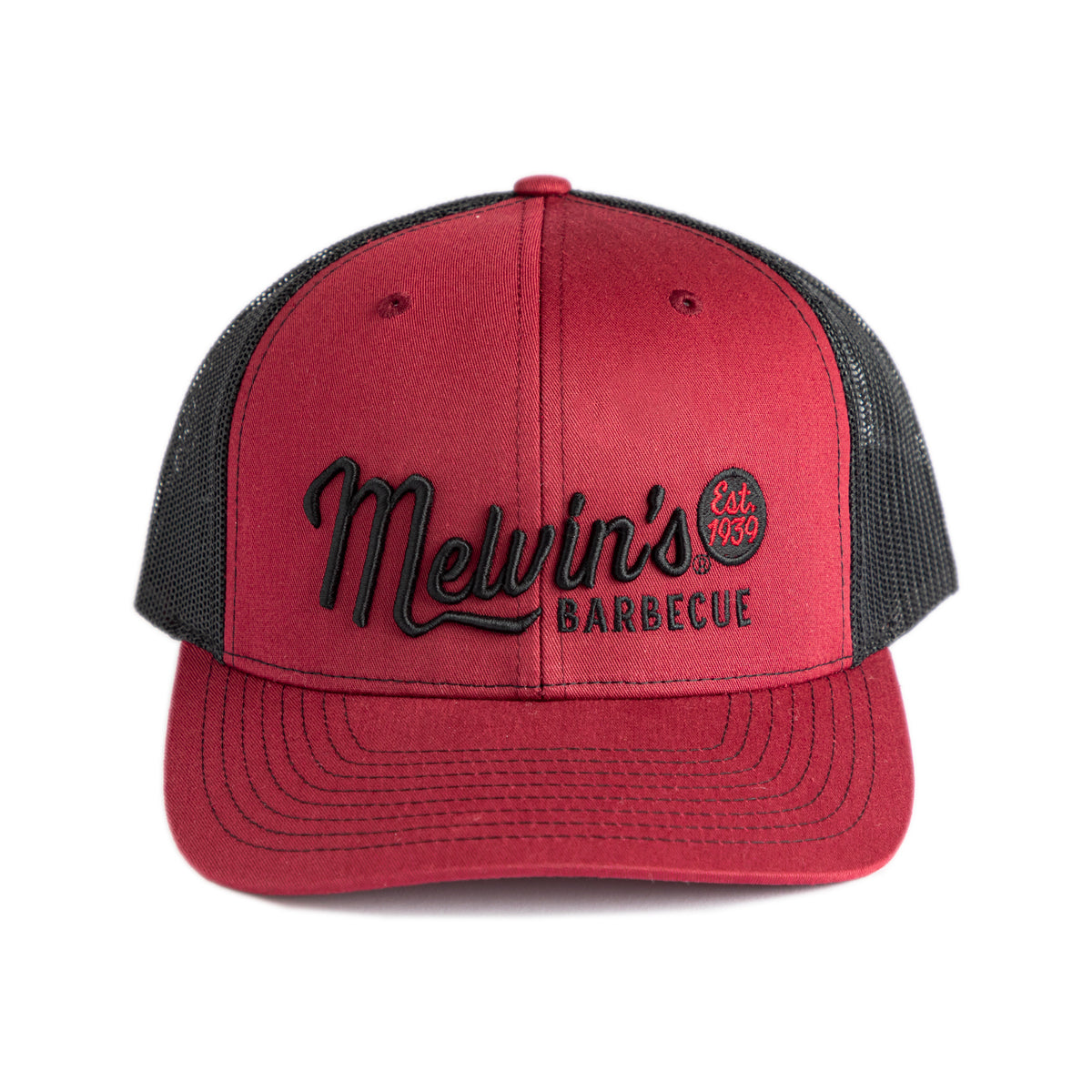 melvin's maroon richardson stitch hat