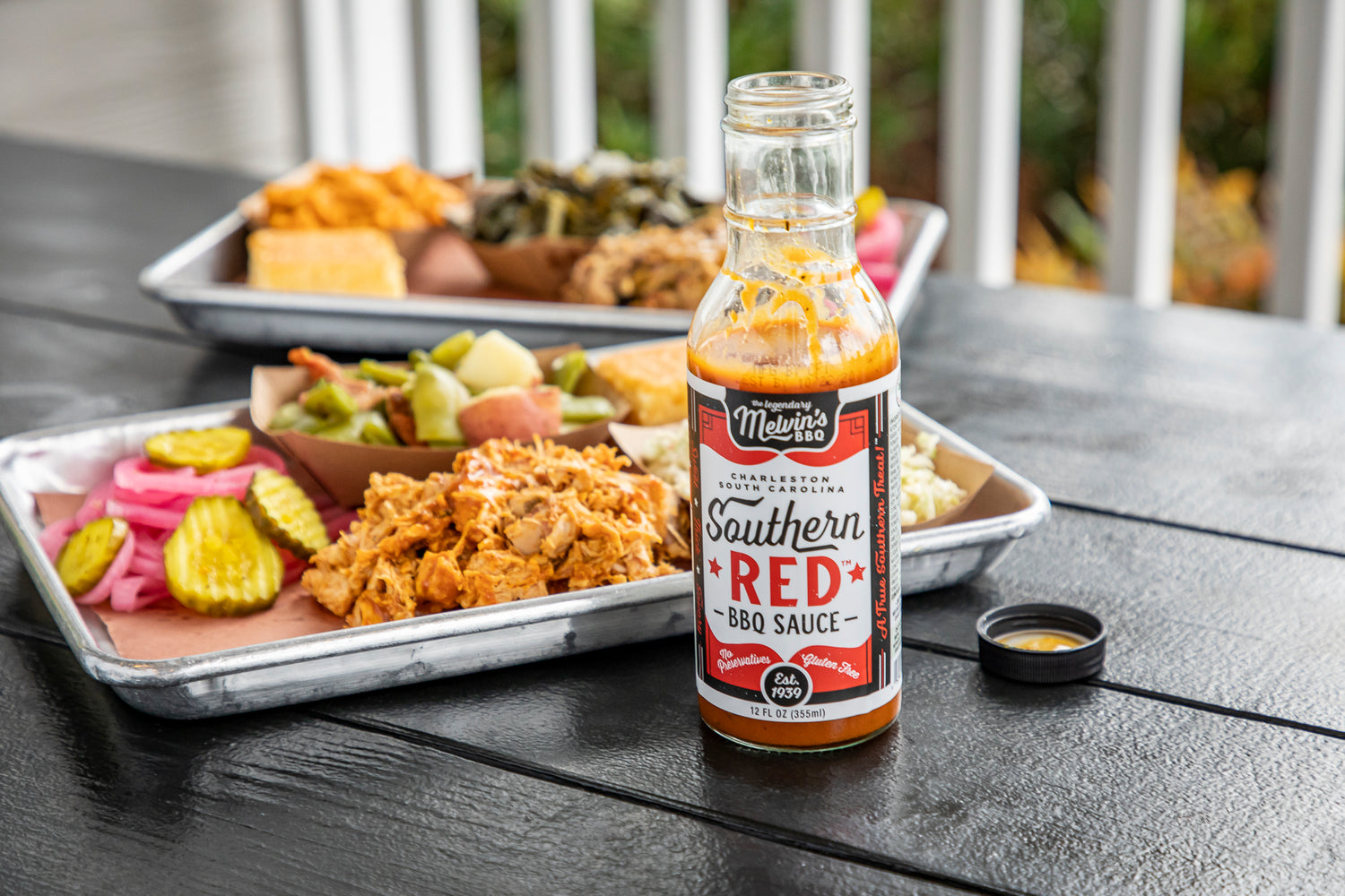 Melvin's BBQ Southern Red