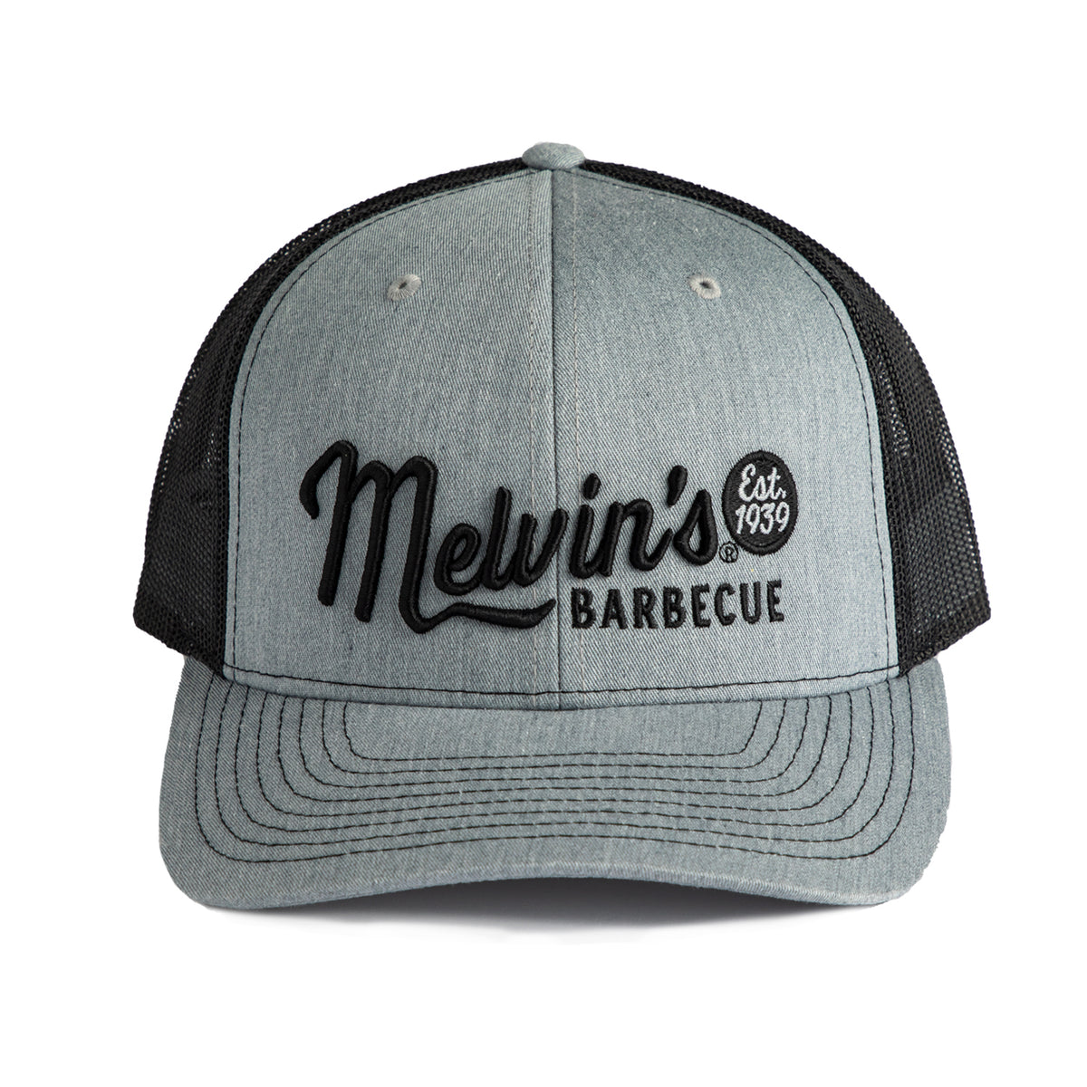 melvin's grey richardson stitch hat