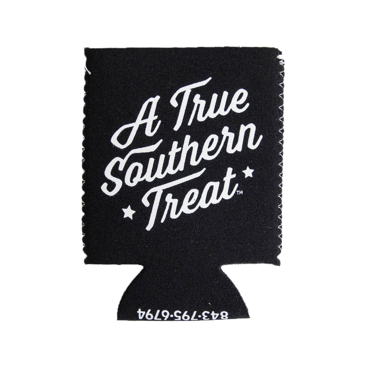 True Southern Treat Black Koozie