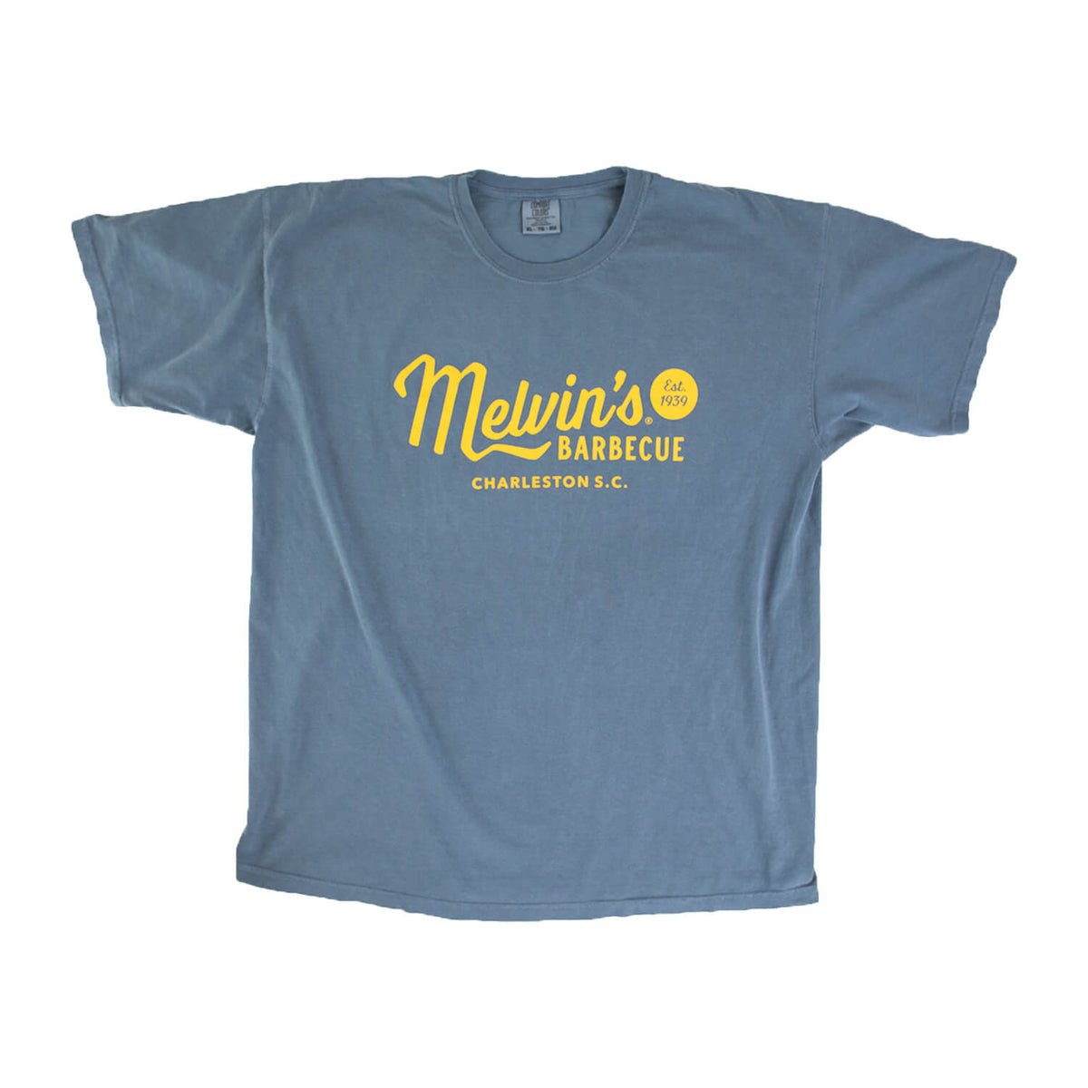 melvin's legendary blue t shirt