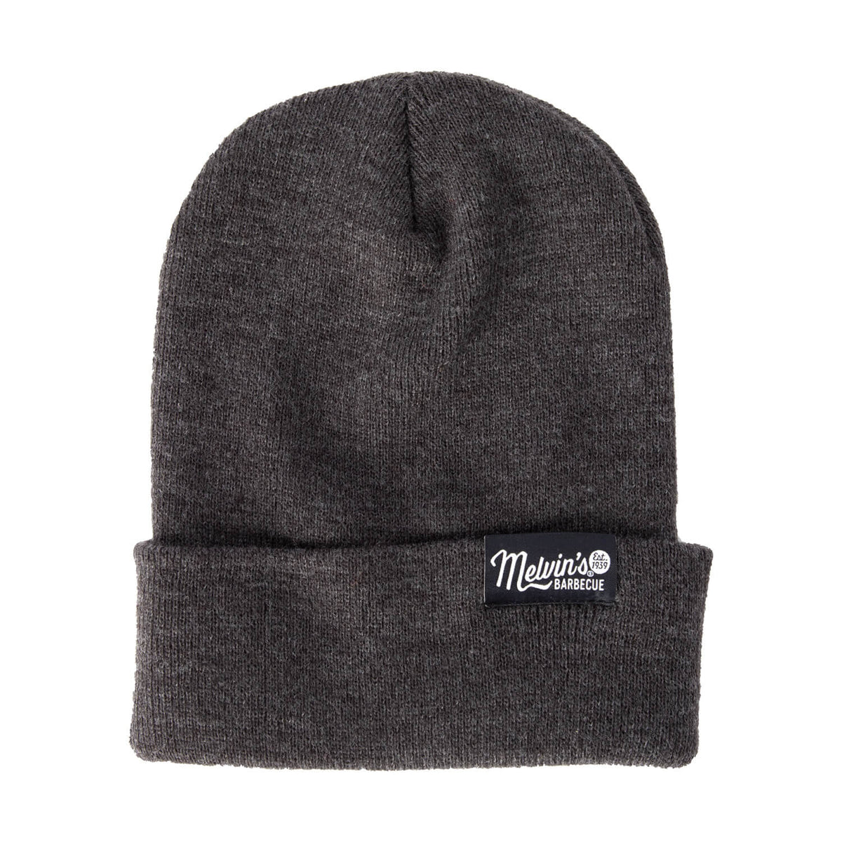 melvin's charcoal beanie