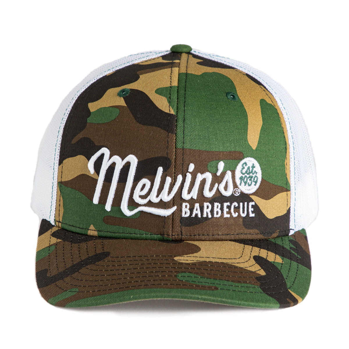 melvin's fashion camo richardson stitch hat