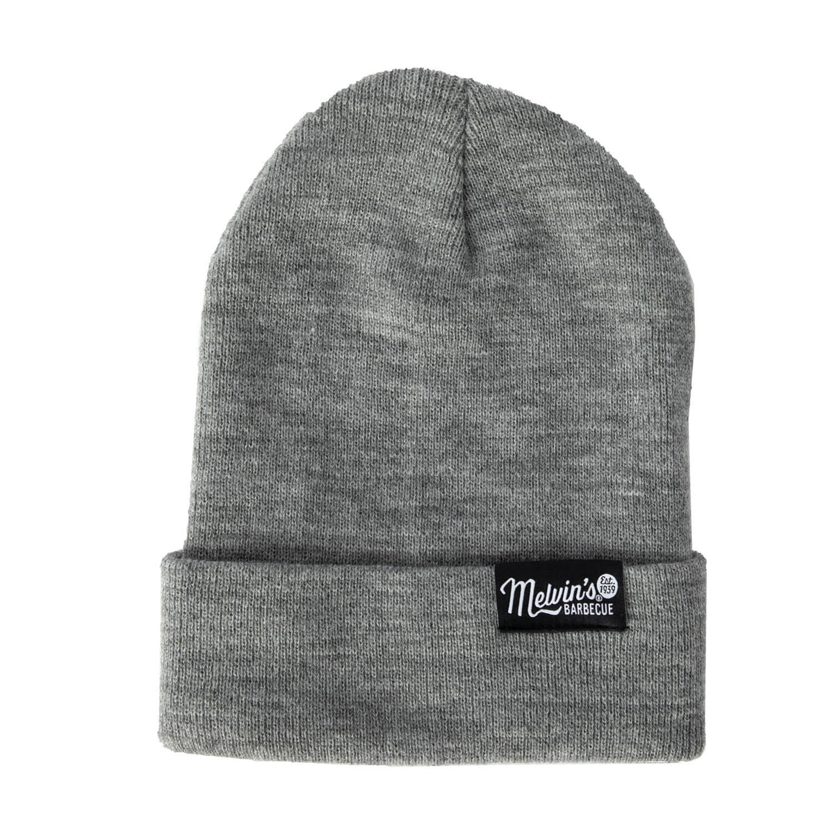 melvin's light grey beanie