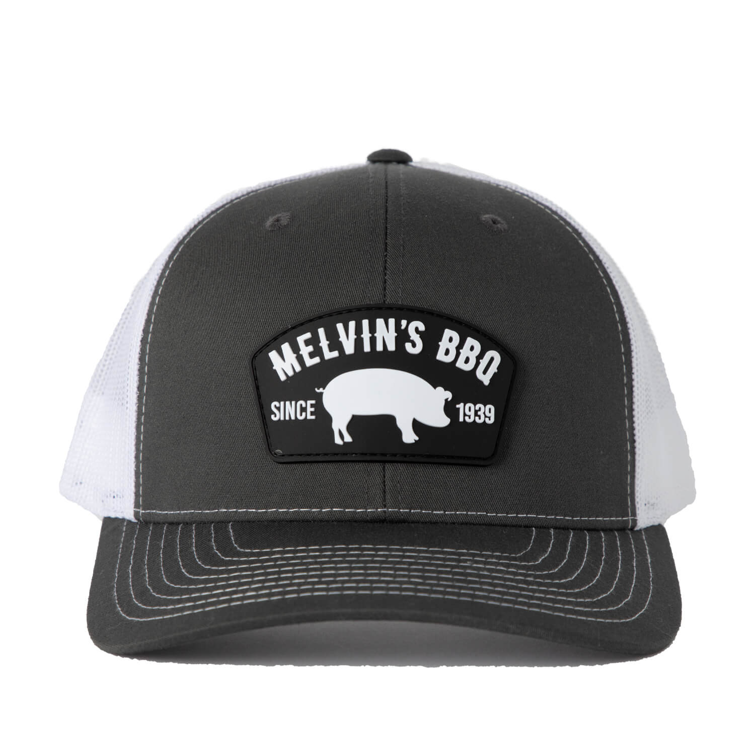 Melvin's Charcoal Richardson PVC Patch Hat