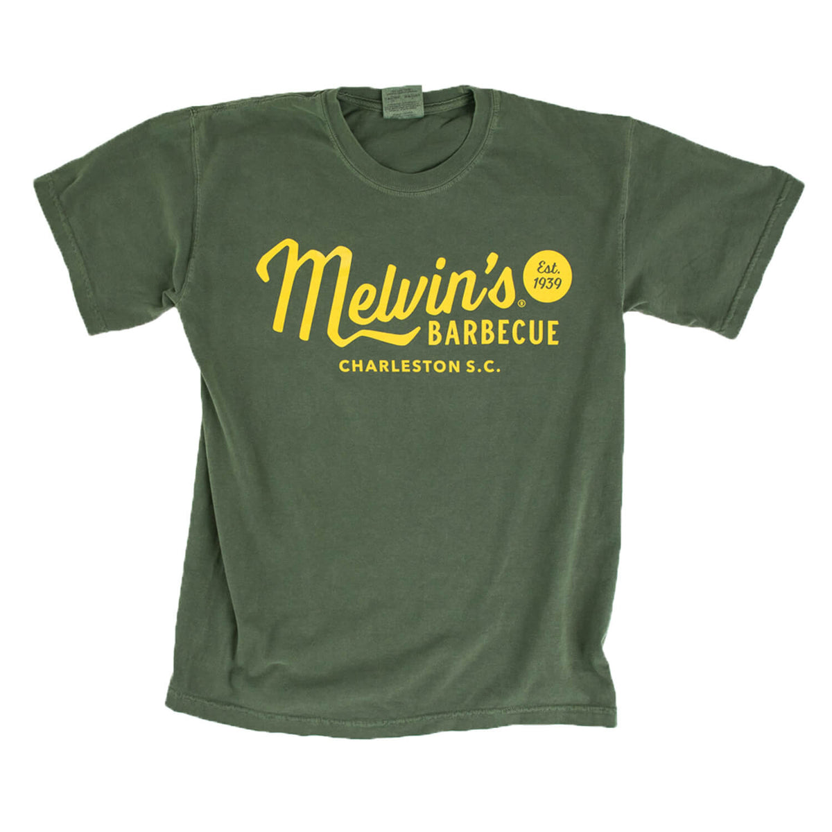 melvin's legendary green t shirt
