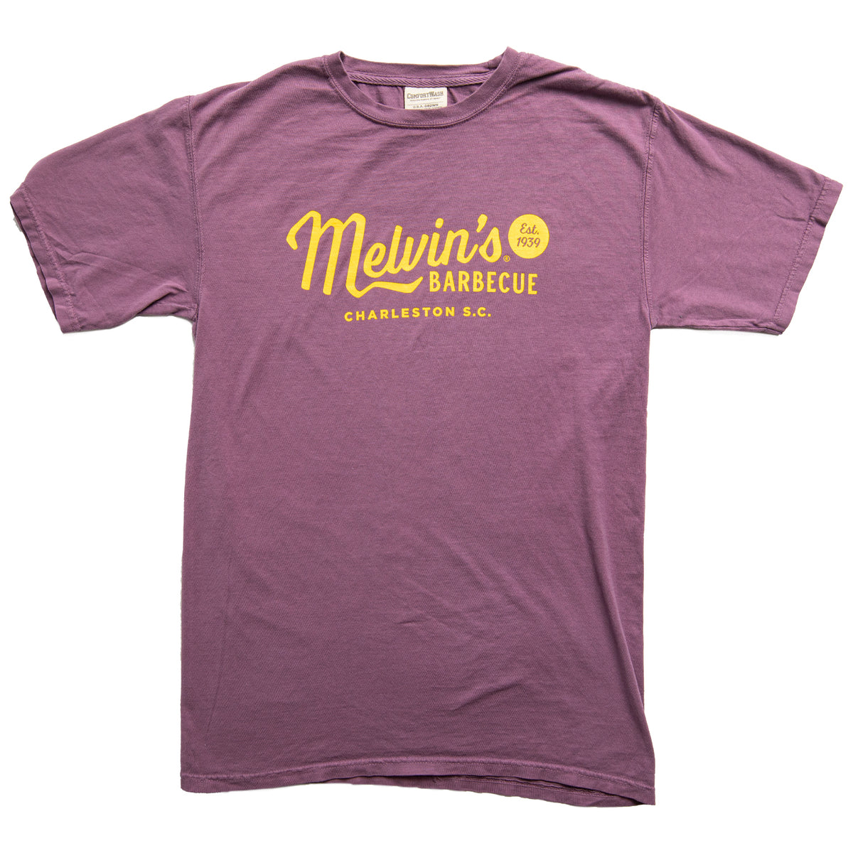 melvin's legendary purple t-shirt