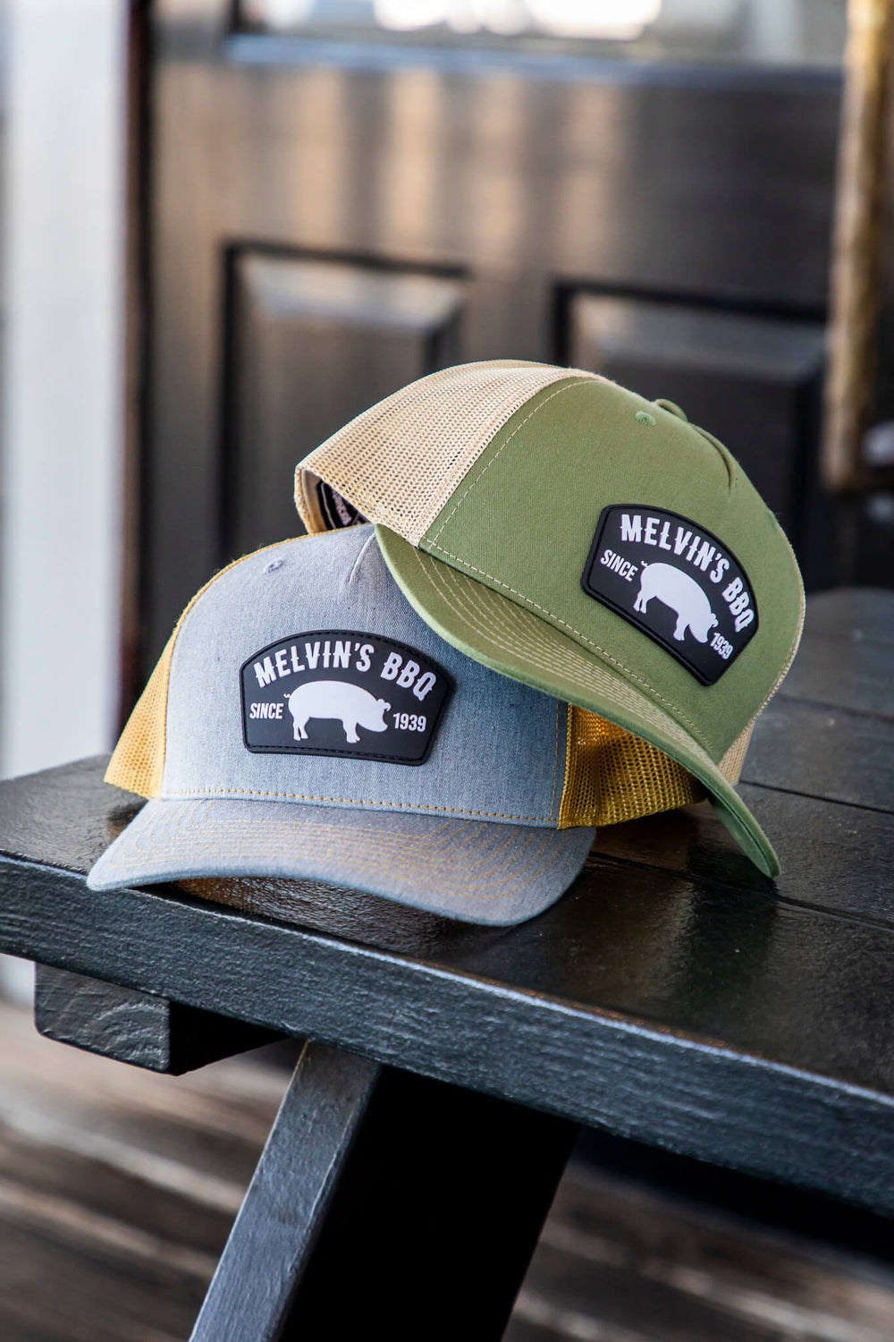 Melvin's Olive Richardson PVC Patch Hat