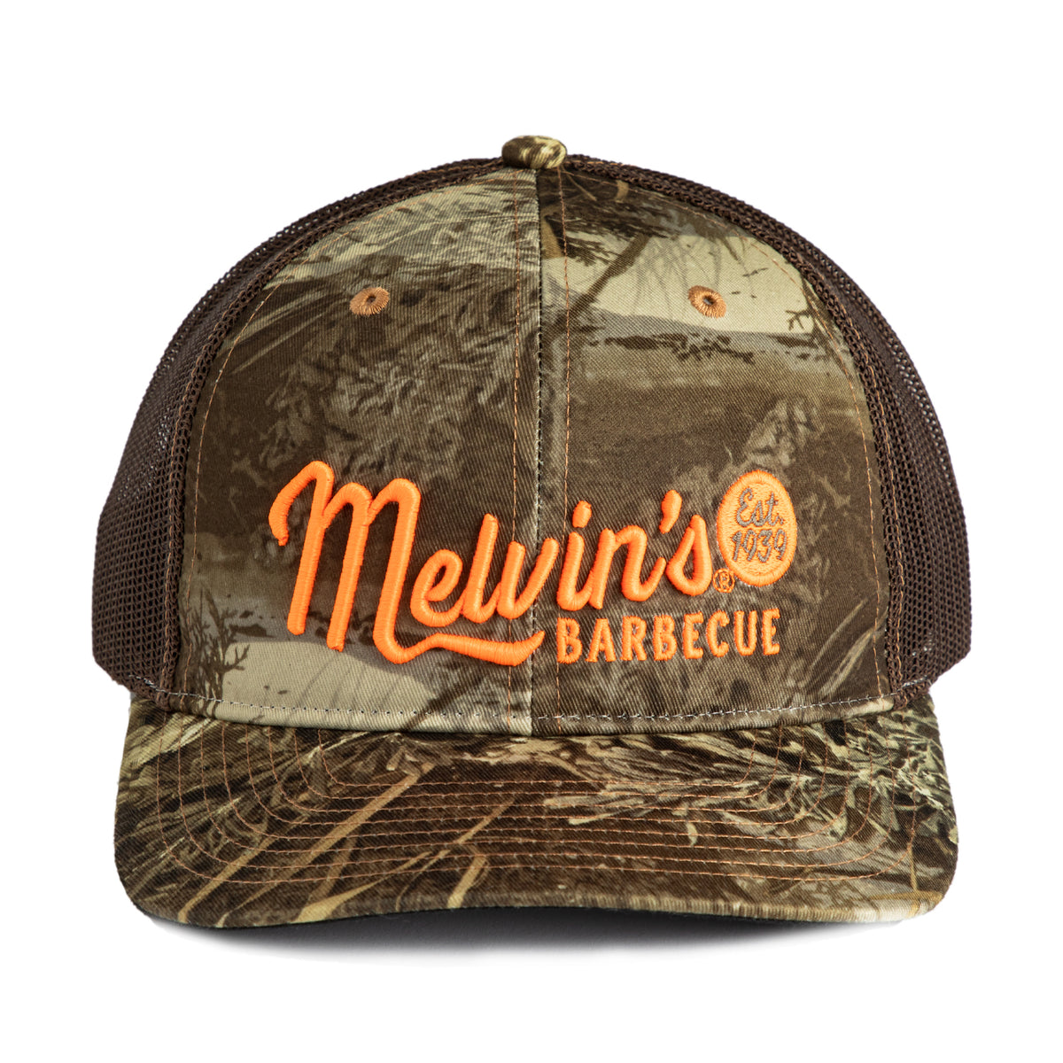 melvin's real tree camo richardson stitch hat