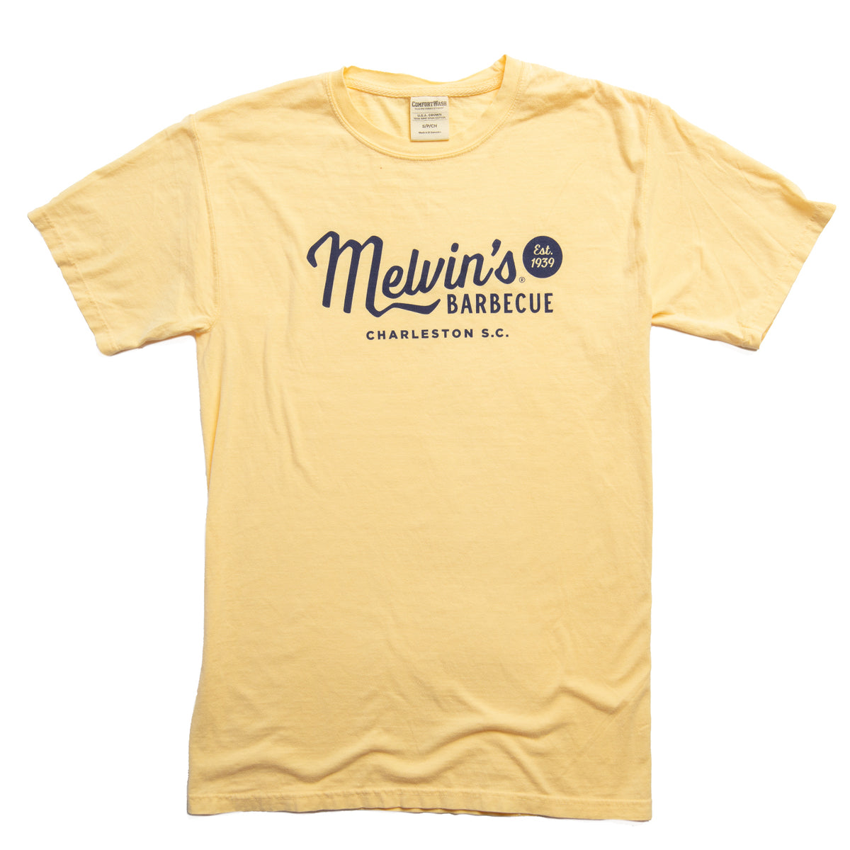 melvin's legendary yellow t-shirt