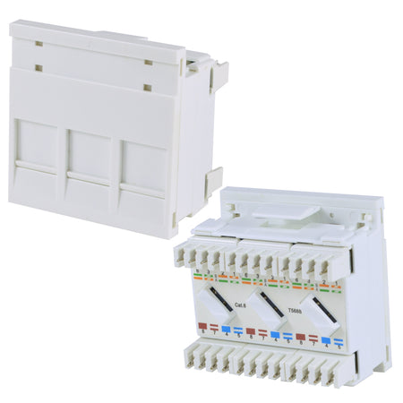 Wall Plates and Modules/Network Faceplates and Outlets