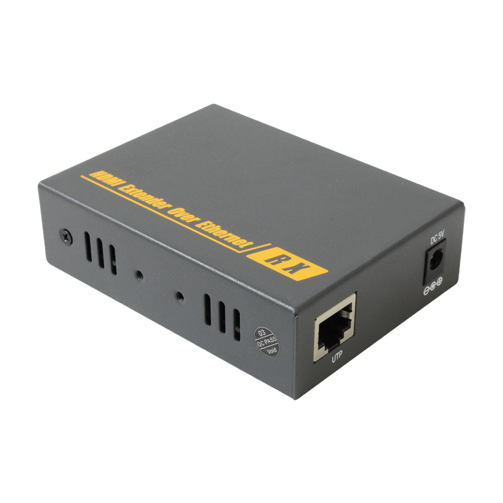 HDMI over Cat6 120m extra receiver front