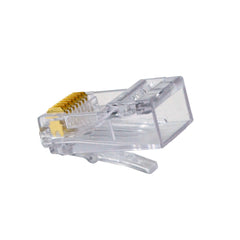 ezEx44 cat6a connectors rear pack of 10 202044J-10