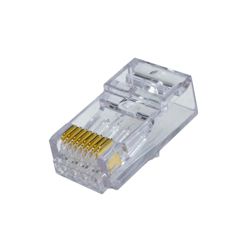 ezEx48 cat6a connectors front pk 50 100029C front