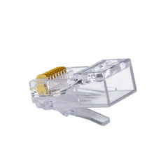 ezEx48 cat6a connectors front pk 50 100029C rear