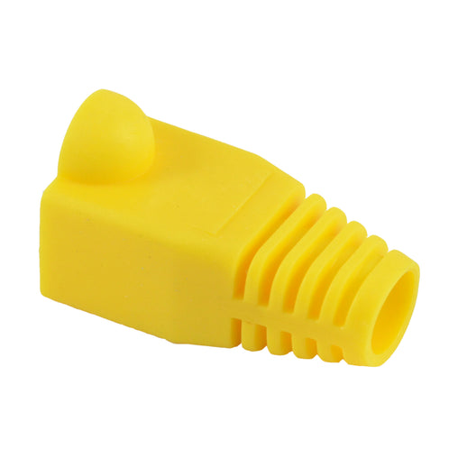 Yellow 7mm rj45 boots 100034Y-BG
