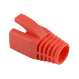 RJ45 8mm Boots Red x25 105105