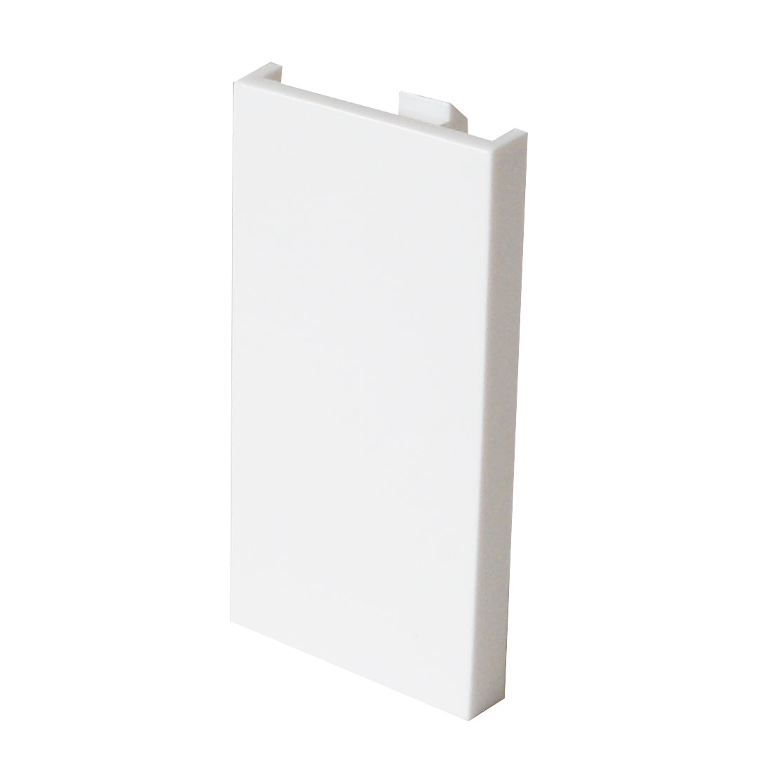 white single blanking plate