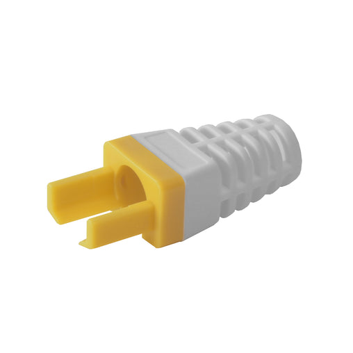EZ-RJ45 CAT6 Strain Relief Yellow 100030Y-10