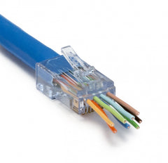 ezex38 cat6a connector with conductors