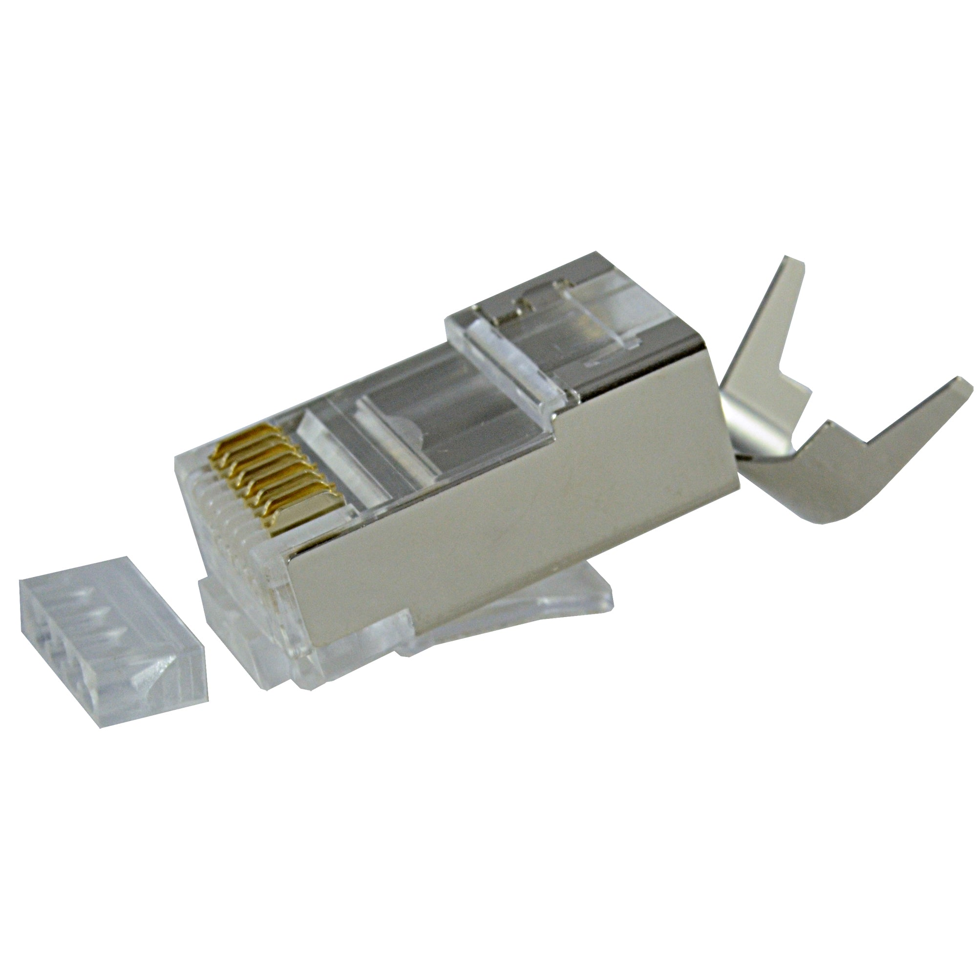 Cat6A Shielded 10Gb Connector 106192