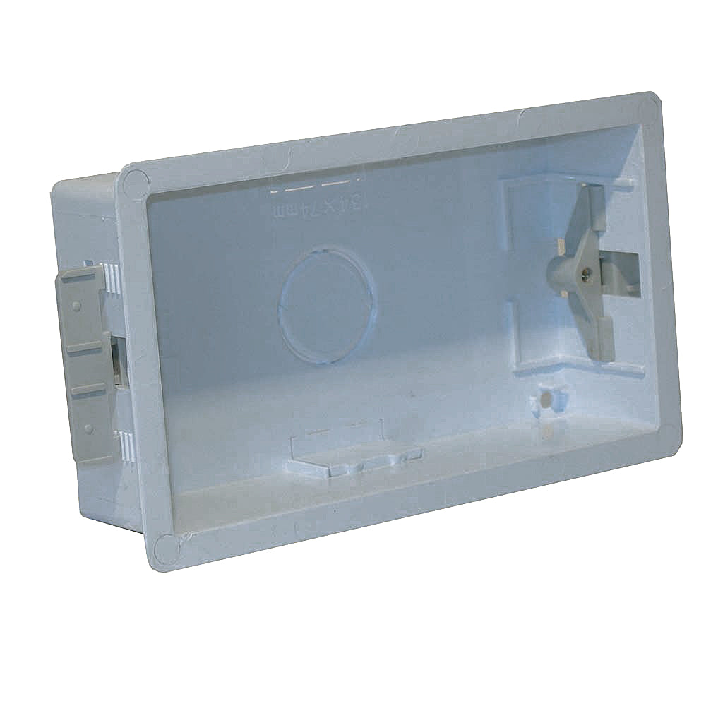 Plastic Mounting Box Double Gang 35mm