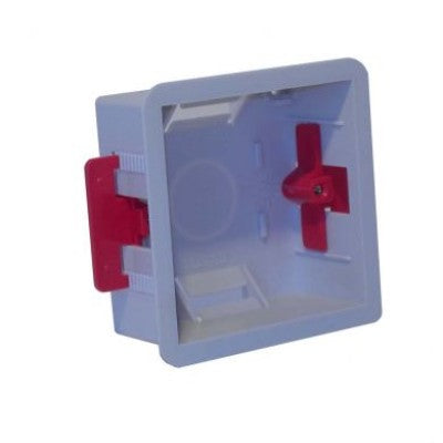 Plastic Mounting Box Single Gang 35mm