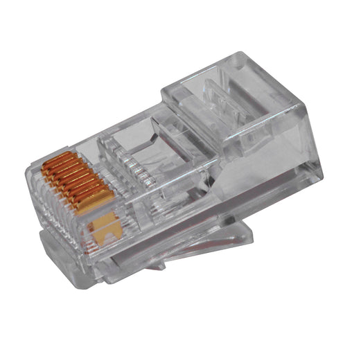 EZ-RJ45 CAT6 Connector Platinum Tools 105004 Pack of 500