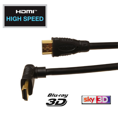right angle up hdmi cable 1m