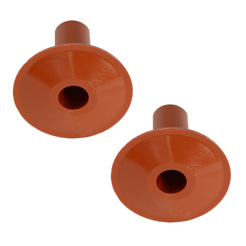 single cable entry exit terracotta grommets top