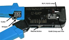 ez rj45 crimp tool 100004 close up diagram