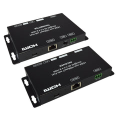 HDMI hdbaset 4k 2160p 18Gb RGB YUV Cat6 extender rear