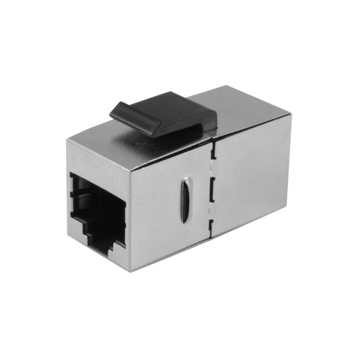 shielded rj45 cat6 coupler front
