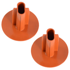 shotgun double cable entry exit bush grommet terracotta base