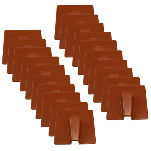 terracotta blow out coaxial satellite covers, pack of 20