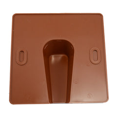 cable entry exit cover terracotta blow-out plate rear