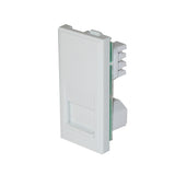 Telephone Slave Socket White