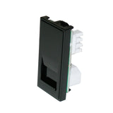 Telephone Slave Socket Black