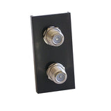 Twin F Module in Black