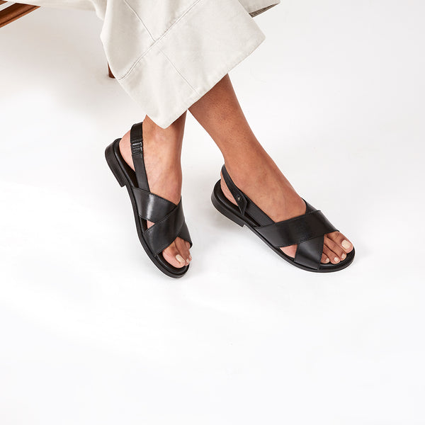 AXEL SANDAL  -  BLACK