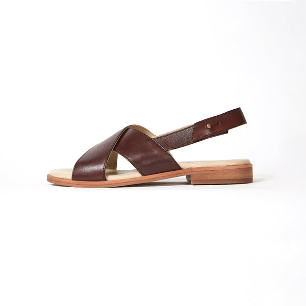 AXEL SANDAL  -  OX BLOOD