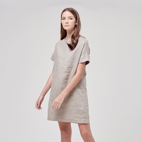 BILLY DRESS - MOSS