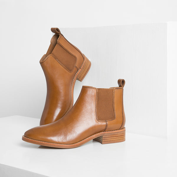 CHELSEA BOOT - CHESTNUT