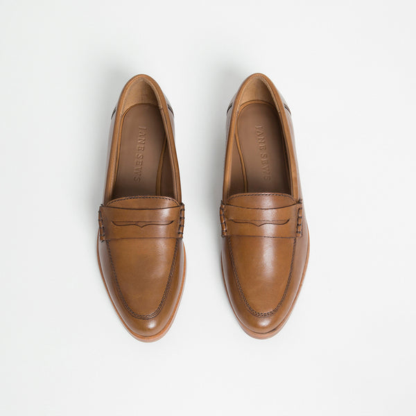 PENNY LOAFER - CHESTNUT