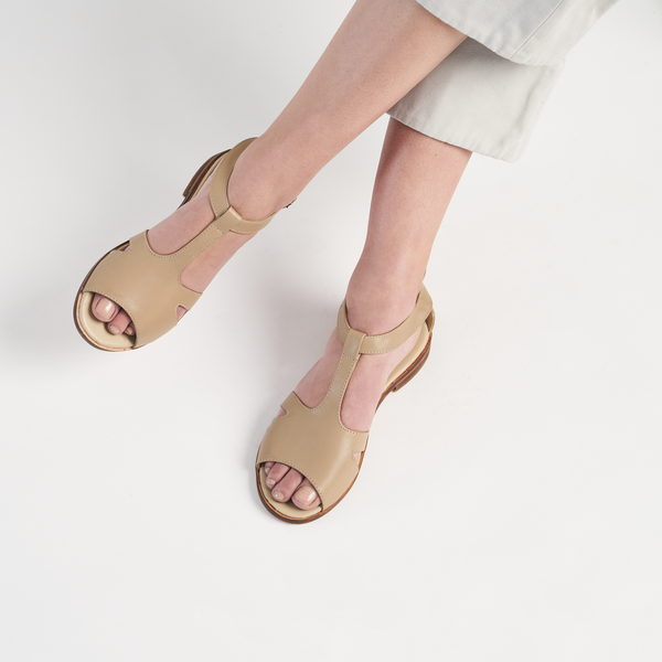 MARGOT SANDAL - NUDE