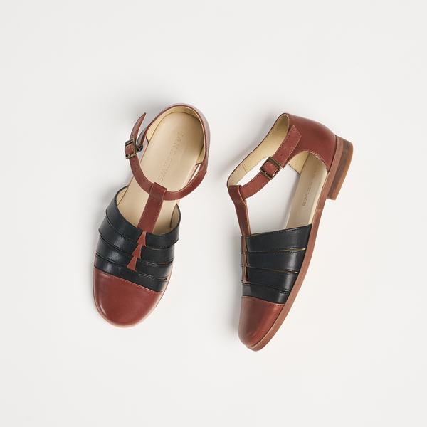 MILA SANDAL - COLOURBLOCK