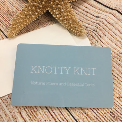 Knotty Knit Gift Card