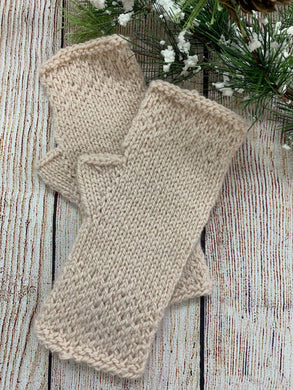Honeycomb Wrist Warmers